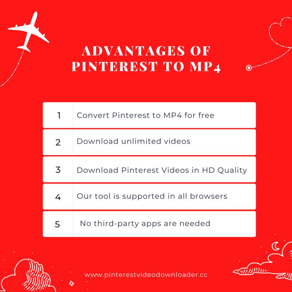 Pinterest to MP4 Downloader
