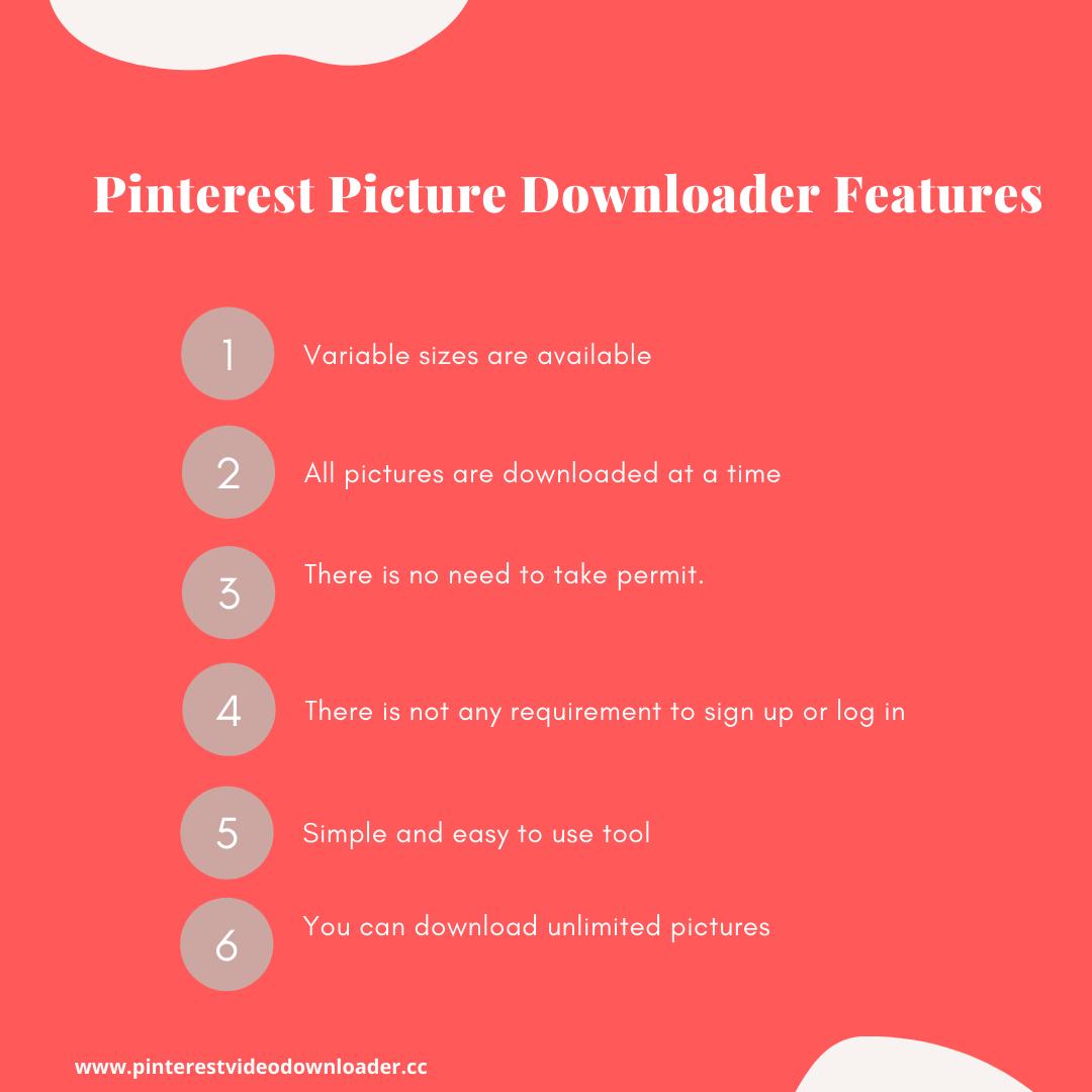 Pinterest Picture Downloader Infographics